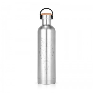 Bouteille isotherme inox Hibou